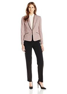 Tahari ASL Women's Tweed Pant Suit