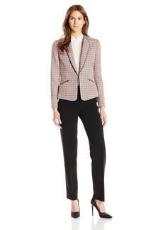 Tahari ASL Women's Tweed Pant Suit