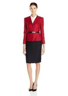 Tahari ASL Women's Victor Skirt Suit
