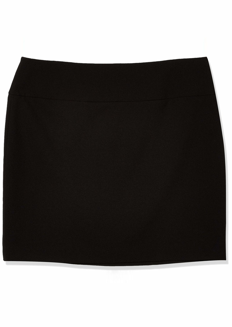 Tahari ASL Women's Wide Waistband A-Line Skirt