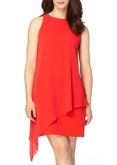 Tahari Asymmetrical A-Line Dress (Regular & Petite)