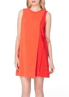 Tahari Asymmetrical Shift Dress