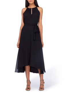 Tahari Belted Midi Dress