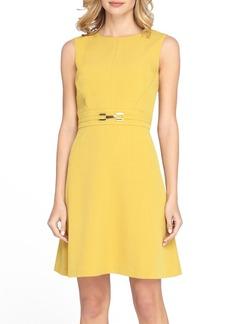 Tahari Bi-Stretch A-Line Dress (Regular & Petite) (Online Only)