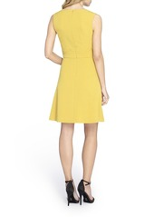 Tahari Bi-Stretch A-Line Dress (Regular & Petite) (Online Only)