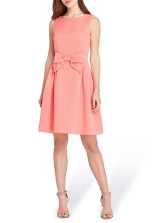 Tahari Bow Fit & Flare Dress (Regular & Petite)