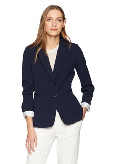 Tahari by Arthur S. Levine Women's 2 Button BI Stretch Jacket