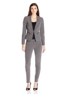 Tahari by Arthur S. Levine Women's Missy Bistretch Pant Suit