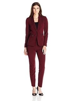 Tahari by Arthur S. Levine Women's Asl Missy Crepe Pant Suit