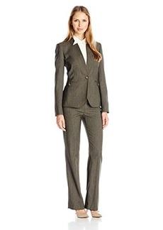Tahari by Arthur S. Levine Women's Asl Missy Melange Pant Suit