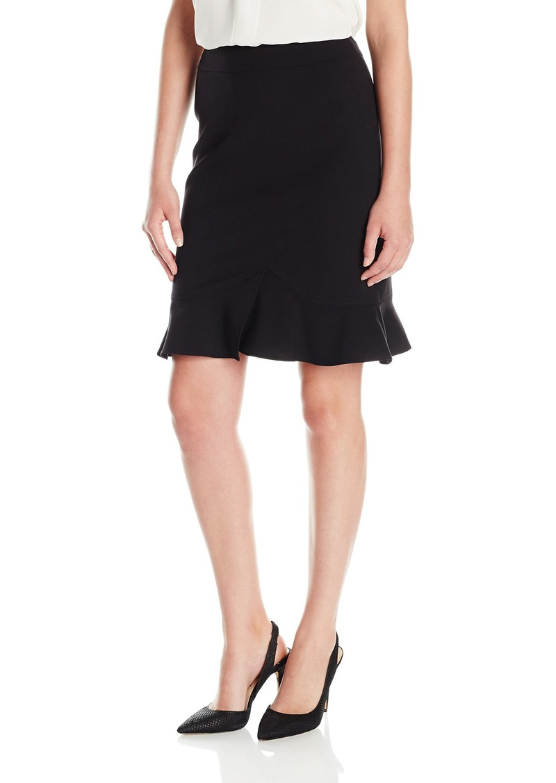 Tahari by Arthur S. Levine Women's Bi Stretch Flip Skirt