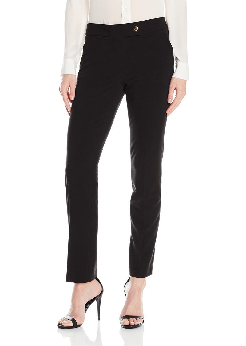 Tahari by Arthur S. Levine Women's Bi Stretch One Button Pant