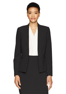 Tahari by Arthur S. Levine Women's Bi Stretch Open Front Jacket