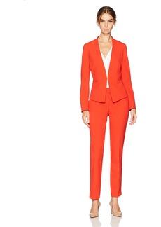 Tahari by Arthur S. Levine Women's Bi Stretch Open Front Pant Suit