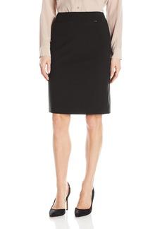 Tahari by Arthur S. Levine Women's Bi Strech Side Zip Straight Skirt  12