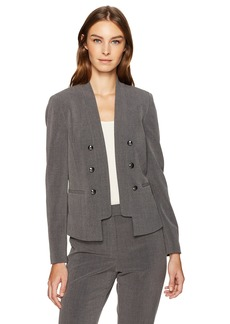 Tahari by Arthur S. Levine Women's Bistretch Military Jacket