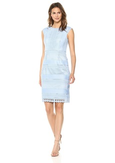 Tahari by Arthur S. Levine Women's Chemical Lace Dress