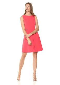 Tahari by Arthur S. Levine Women's Crepe Sleeveless