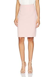 Tahari by Arthur S. Levine Women's Crepe Slim Pencil Skirt