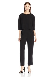 Tahari by Arthur S. Levine Women's Light Weight Crepe Jumpsuit