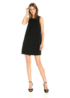Tahari by Arthur S. Levine Women's Matte Jersey Keyhole Dress