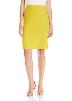 Tahari by Arthur S. Levine Women's Missy Bi-stretch Pencil Skirt