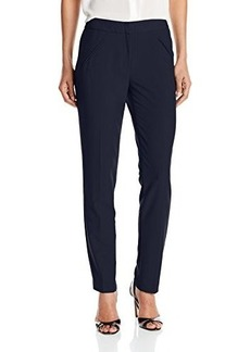 Tahari by Arthur S. Levine Women's Missy Bi-stretch Slim Pant