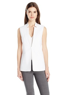 Tahari by Arthur S. Levine Women's Novelty Star Neck Vest