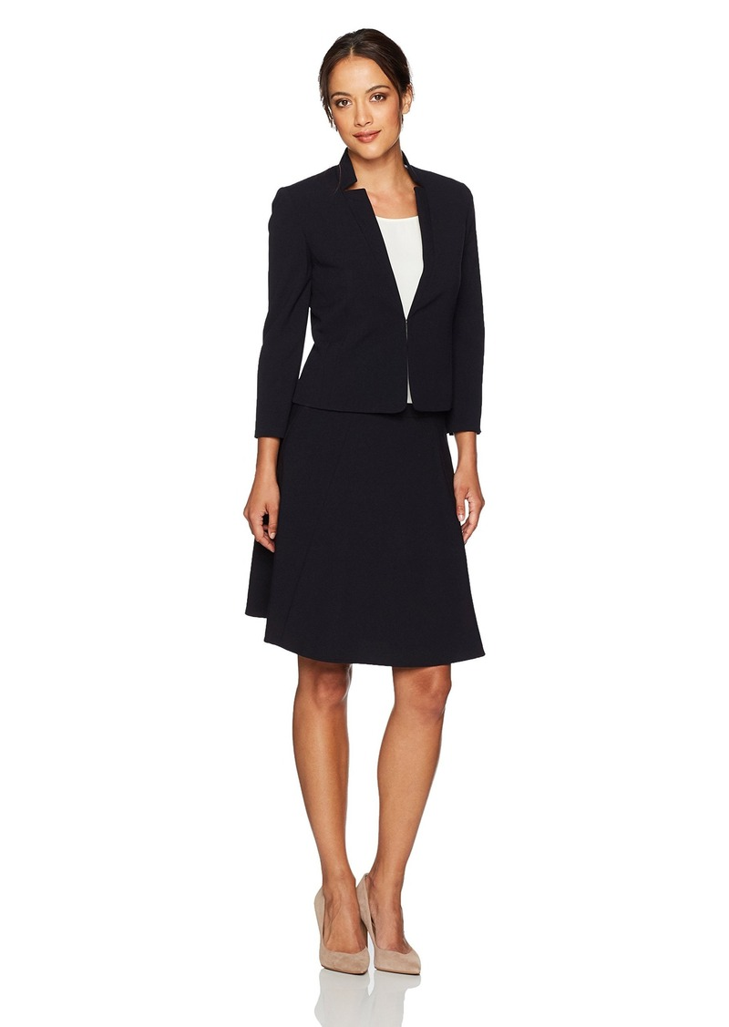 Tahari Tahari by Arthur S. Levine Women's Petite-Size Suit with a ...