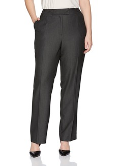 Tahari by Arthur S. Levine Women's Plus Size Tab Waist Band Trouser  18w