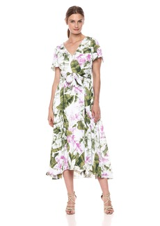 Tahari by Arthur S. Levine Women's Printed GGT Dress