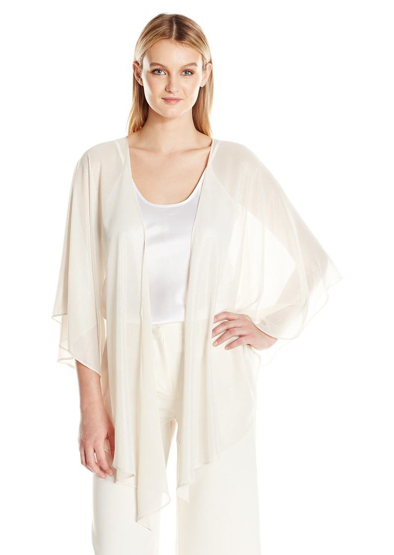 Tahari by Arthur S. Levine Women's Shimmer Chiffon Cover-up