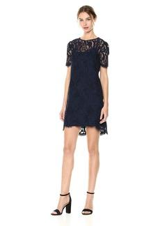 Tahari by Arthur S. Levine Women's Short Sleeve Lace Sheath Dress