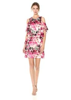 Tahari by Arthur S. Levine Women's Sleeveless Yoryu Chiffon Dress