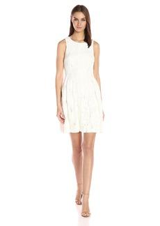 Tahari by Arthur S. Levine Women's Sleevless Chemical Lace Dress