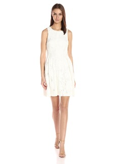 Tahari by Arthur S. Levine Women's Sleevless Chemical Lace Dress
