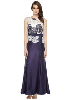 Tahari by Arthur S. Levine Women's Sleevless Lace Ball Gown