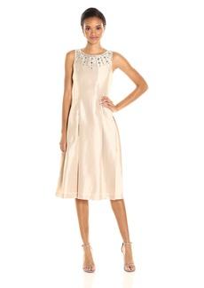 Tahari by Arthur S. Levine Women's T Length Necklace Dress