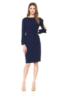 Tahari by Arthur S. Levine Women's V-Neck Shit Dress