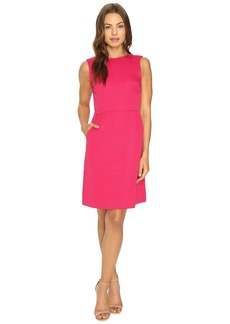 Tahari by ASL Faille Tulip Skirt Sleeveless Sheath