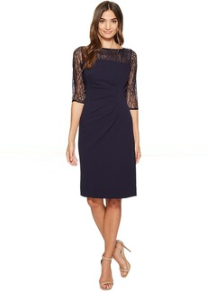 Tahari by ASL Lace Sleeve Sheath Dress
