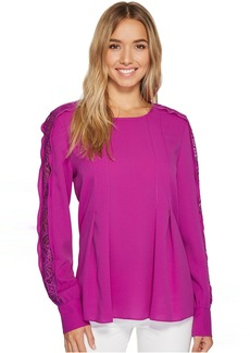 Tahari by ASL Long Sleeve Blouse