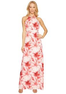 Tahari by ASL Maxi Floral Print Dress