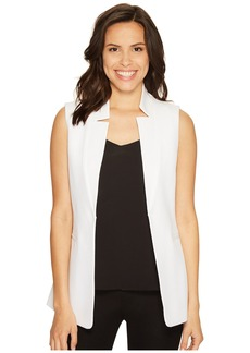 Tahari by ASL Novelty Star Neck Vest