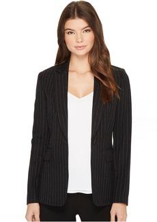 Tahari Pinstripe Jacket