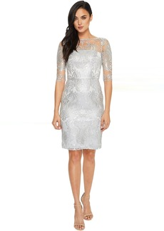 Sequin Embroidery Sheath