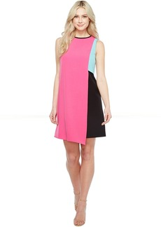 Tahari by ASL Swing Color Block Dress