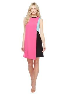 Tahari by ASL Swing Color Block Dress
