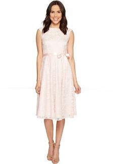 Tahari by ASL Tea-Length Lace A-Line Dress