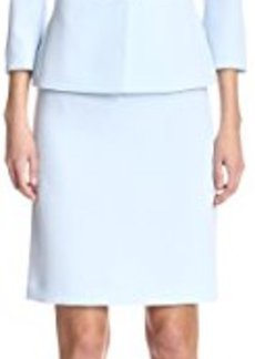 Tahari by ASL Women's Skirt Suit with Pearl Details